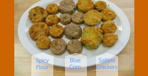 Fried Green Tomatoes – Three Ways
