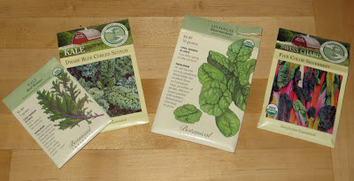 Fall Plans & Plantings – Kale, Spinach & Chard