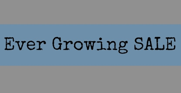 Ever Growing Sale