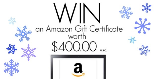 Ever Growing Giveaway – $400 Amazon Gift Card