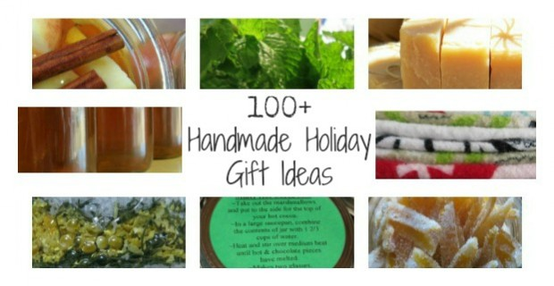 100+ Handmade Holiday Gift Ideas