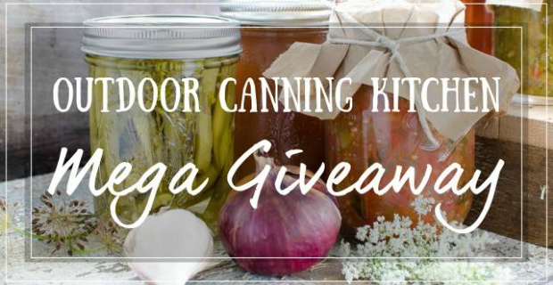 Outdoor Canning Kitchen Giveaway